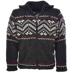 Pure Wool Vest WJK-1314 Antraciet
