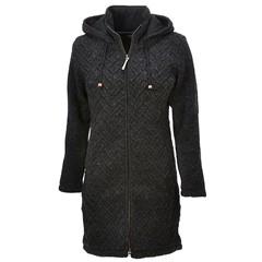 Pure Wool Vest WJK-1709 Antraciet