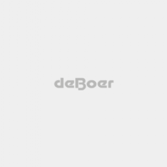 De Boer Katoen Overall Marineblauw
