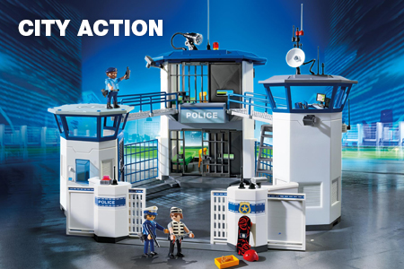 Website categorie - Playmobil City Action