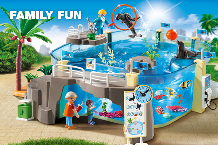 Website categorie - Playmobil Family Fun
