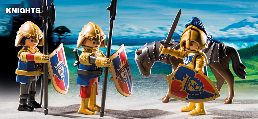 Website categorie - Playmobil Knights