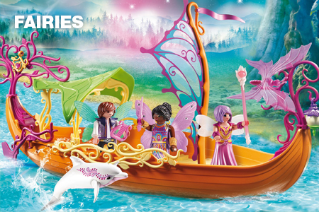 Website Categorie Banner - Playmobil Fairies