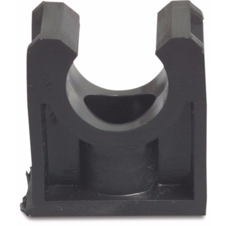 Buisklem PP 25 mm zwart type HT