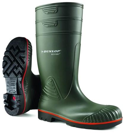 Dunlop Werklaars Acifort Heavy Duty S5 Groen Maat 45