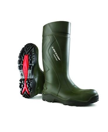 Dunlop Purofort+ Werklaars S5 Groen Maat 44