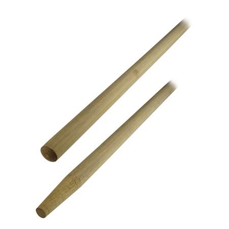 Bezem- / tuinharksteel Ramin 170 cm met lange punt