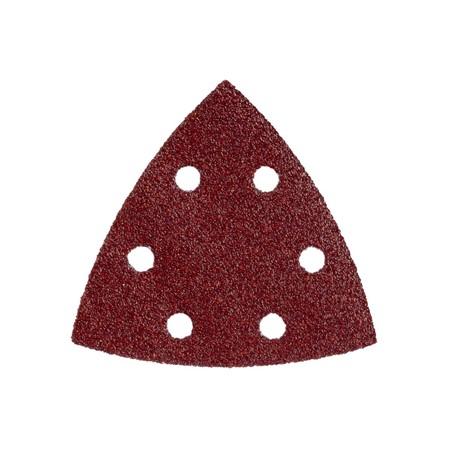 Metabo schuurbladen (driehoek) 5 st. 93x93 mm P 240