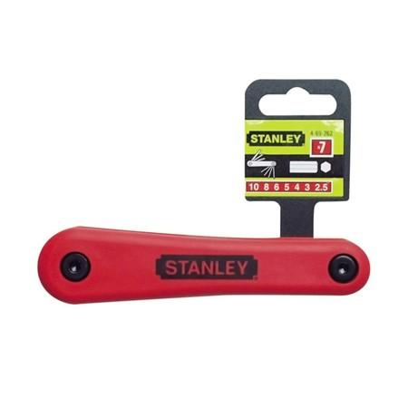 Stanley 7-Delige Stiftsleutelset 2,5-10 mm