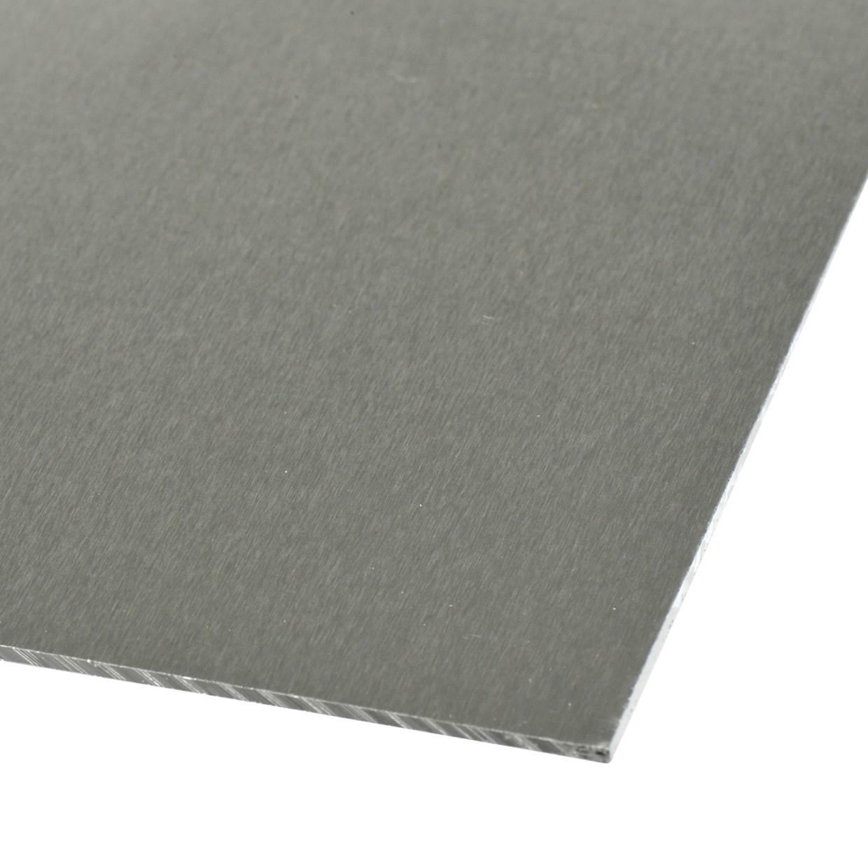 Plaat aluminium 100 x 50 cm 1 mm de boer for Wohnzimmertisch 100 x 50