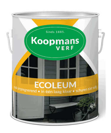 Koopmans ecoleum zwart 2,5 liter