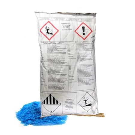 Kopersulfaat AC 25% inhoud zak 25 kg