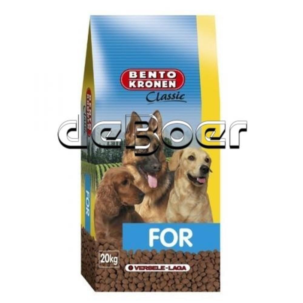 Afbeelding van Bento Kronen hondenvoer Classic for 20 kg