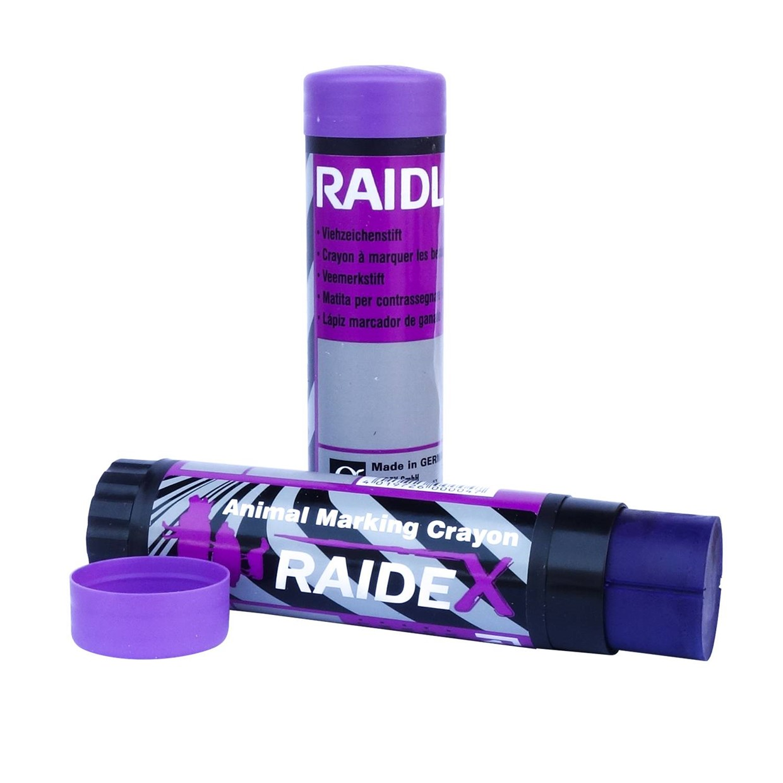 Raidex veemerkstift draaibaar paars - De Boer
