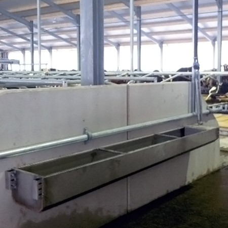 De Boer Snelafvoer Drinkbak (RVS) - 3 Meter