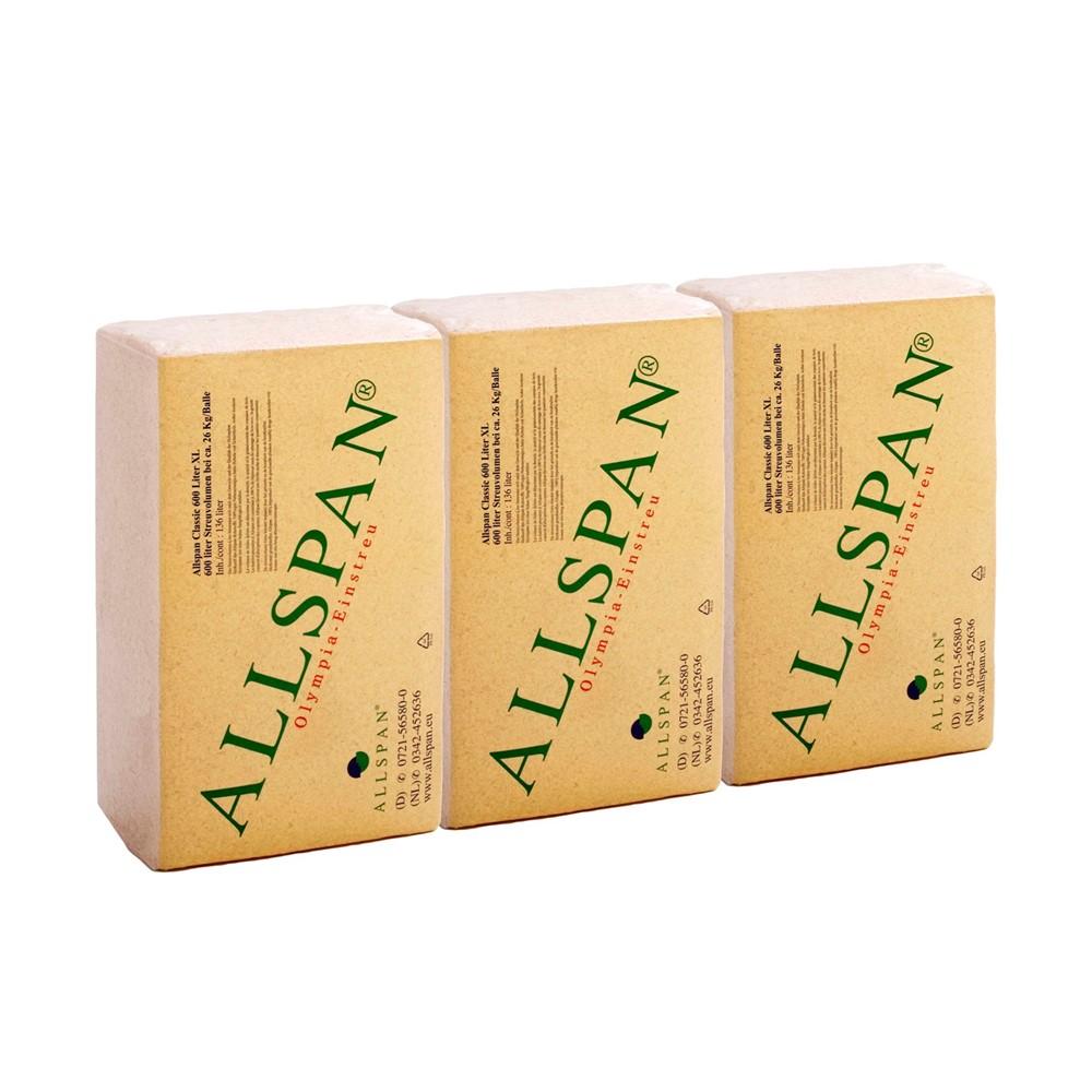 Afbeelding van Allspan houtvezel A Kwaliteit inhoud per baal 24 kg
