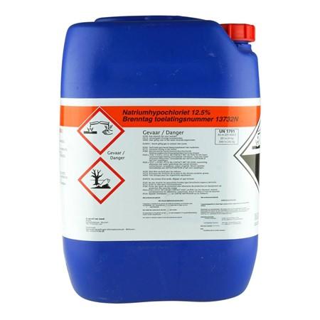 Natriumhypochloriet chloor  12,5%