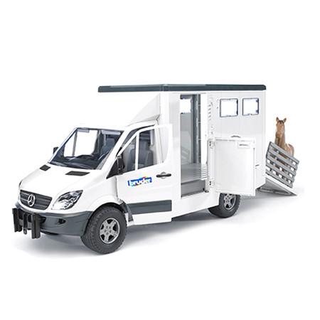 Bruder 02533 - Mercedes Benz Sprinter Paardentransport 1:16