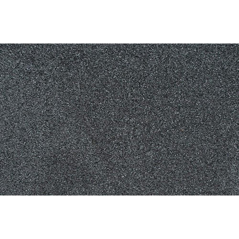 Afbeelding van Rubber veiligheid terrastegel Miami zwart 50 x 2,5 cm