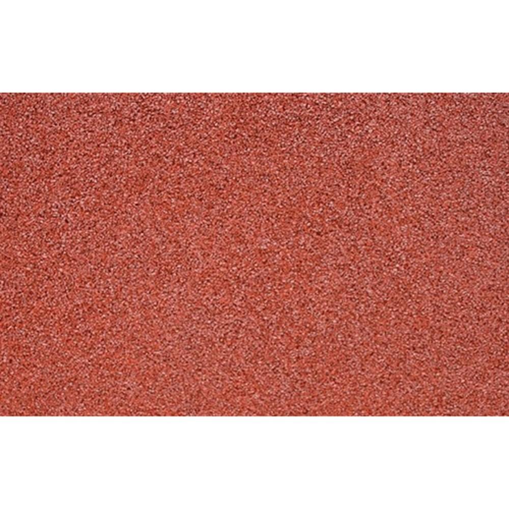 Afbeelding van Rubber veiligheid terrastegel Miami rood 50 x 2,5 cm