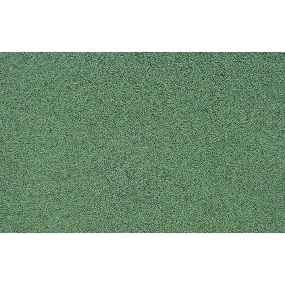 Afbeelding van Rubber veiligheid terrastegel Miami groen 50 x 2,5 cm