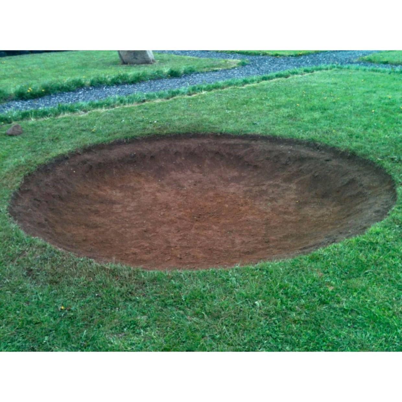 berg trampoline inground champion 430 cm de boer. Black Bedroom Furniture Sets. Home Design Ideas