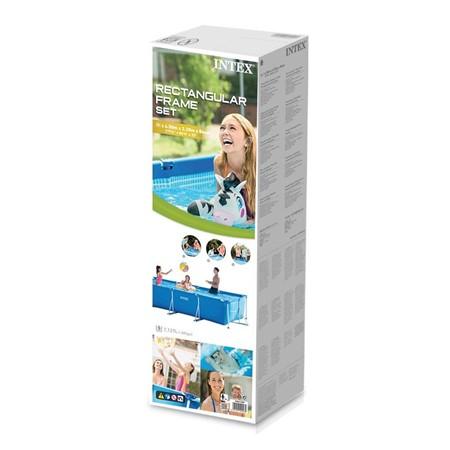 Intex Zwembad Rectangular Frame 300 x 200 x 75 cm