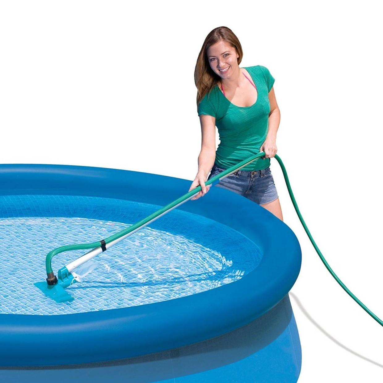 Intex reinigingsset zwembad de boer drachten for Zwembad intex