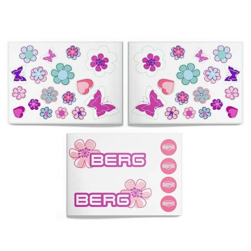 Berg Buzzy - Stickerset Bloom