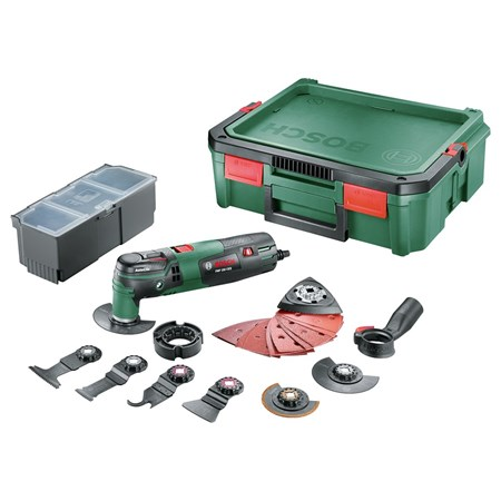 Bosch Multitool PMF 250 CES Inclusief SystemBox