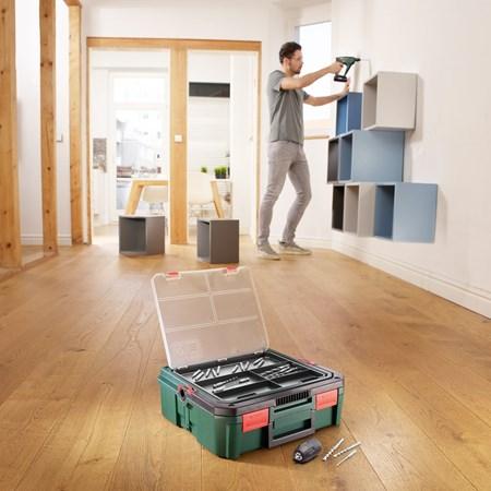 Bosch Accuboorhamer Uneo Maxx 18V Met SystemBox 2 Accu's En Lader