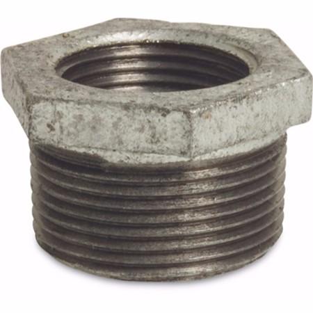 Verloopring gegalvaniseerd 3/4 inch x 1/2 inch (bu-dr x bi-dr)