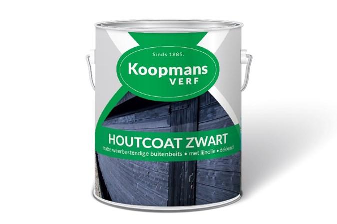 Koopmans Beits Dekkend Zwart 2,5 Liter