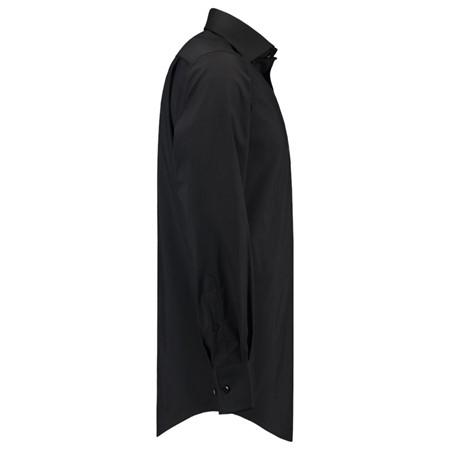 Heren Overhemd Zwart.Tricorp Heren Overhemd Stretch Zwart 38 5 De Boer Drachten