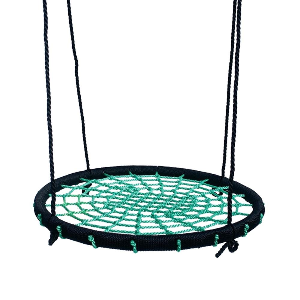Afbeelding van Déko Play Vogelnestschommel Diameter 100 cm Incl. Touw, Groen