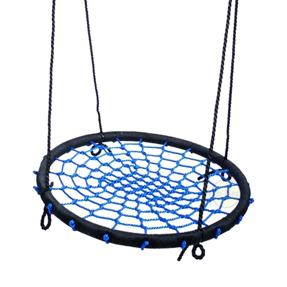 Afbeelding van Déko Play Vogelnestschommel Diameter 100 cm Incl. Touw, Blauw