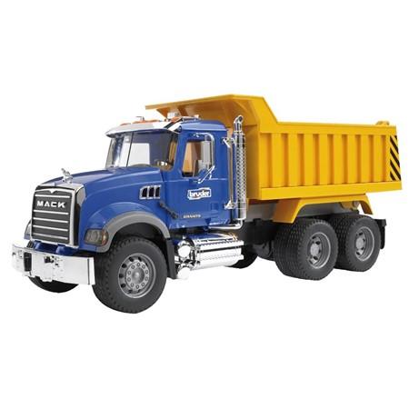 Bruder 02815 - Mack Granite kiepvrachtwagen 1:16