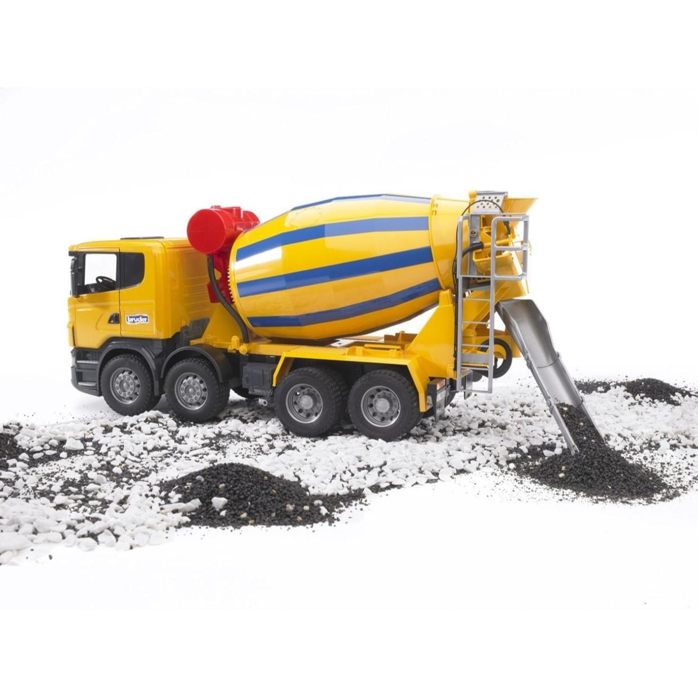 Verwonderlijk Bruder 03554 - Scania R betonmixer 1:16 - De Boer Drachten FU-24