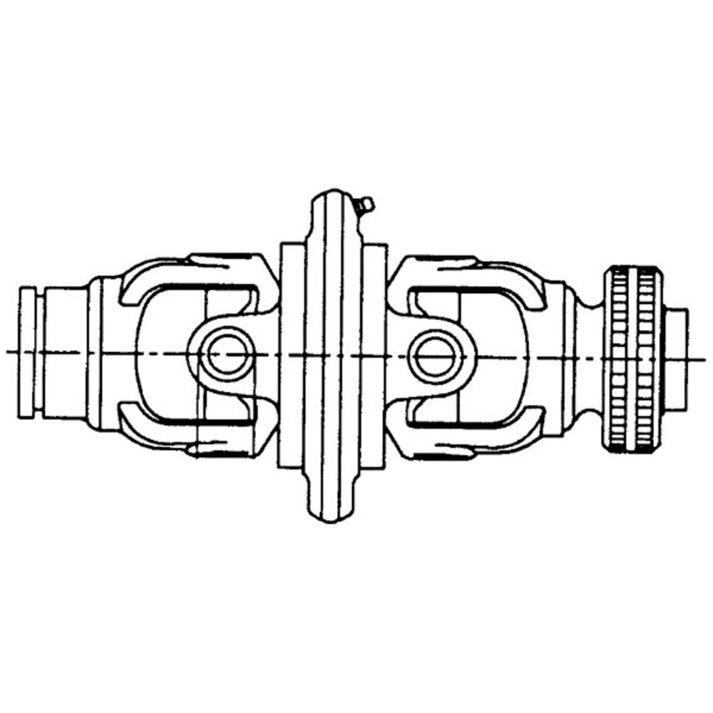 Afbeelding van Groothoekkoppeling Ks 30,2x100 Op Buis 54x4