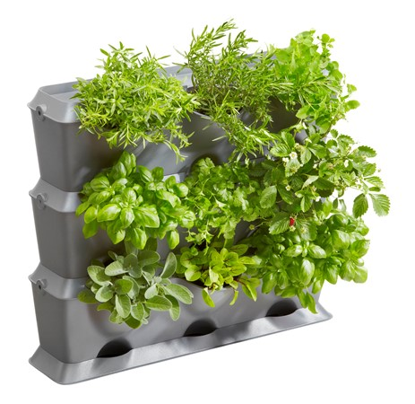 GARDENA Verticaal Tuinieren Gardena Basis-set   65x15x54cm. 9-planten