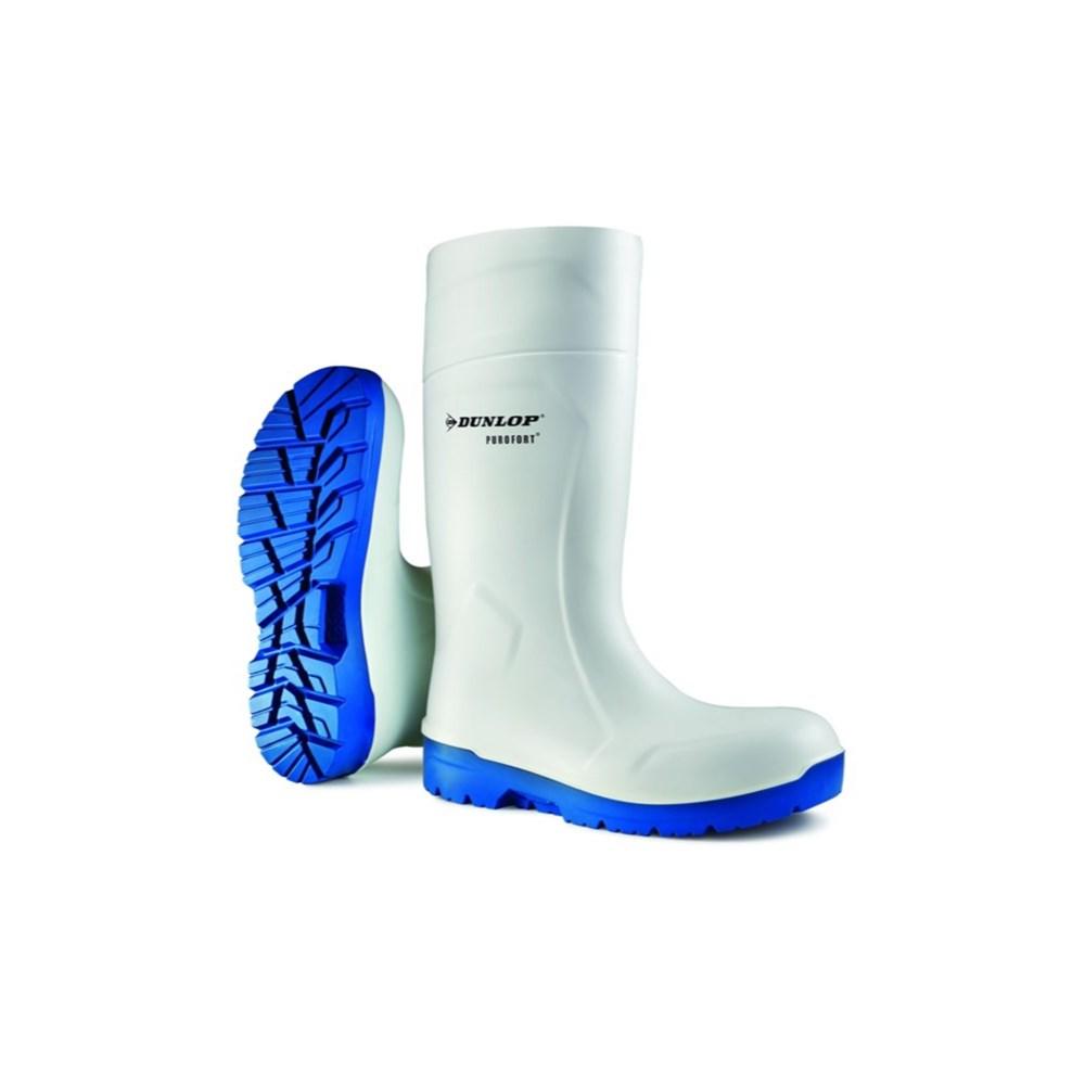 Afbeelding van Dunlop Purofort Foodpro Werklaars S4 Wit Hydrogrip Maat 43