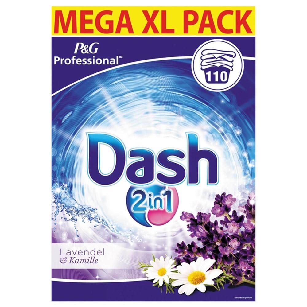 Afbeelding van Dash Waspoeder 2 in 1 Lavendel En Kamille 7,15 KG