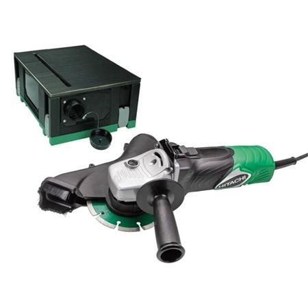 Hitachi G13SB3 Stofbox Haakse slijper 125 mm 1300 Watt in koffer