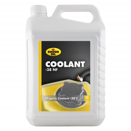 Kroon Olie Coolant -38 NF silicaatvrije organische koelvloeistof 5 liter