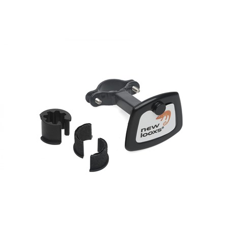 New Looxs Toscane Smartlock Afneembare Fietsmand 19l - Zwart