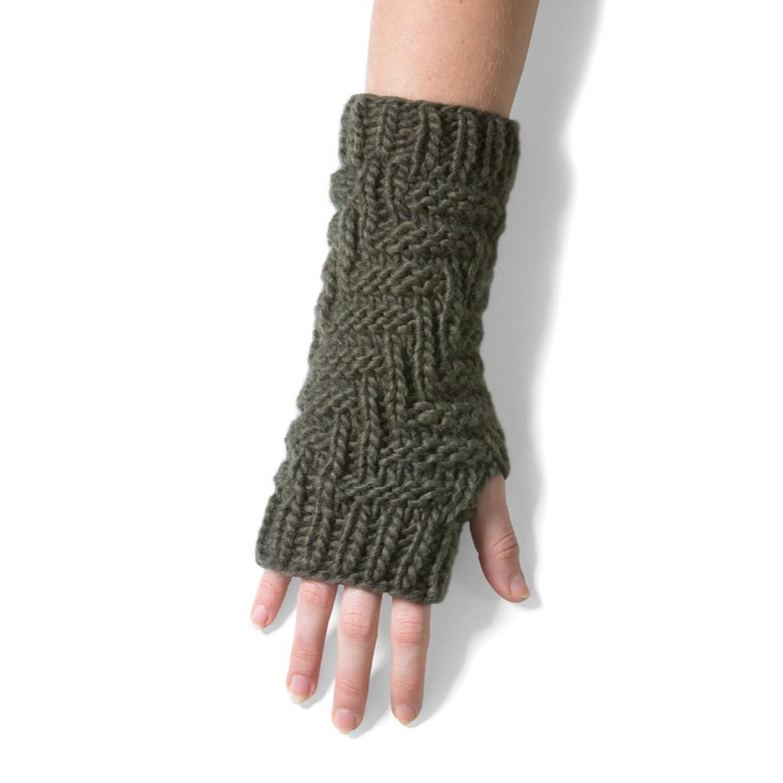 Mongo Vingerloze Handschoenen Khaki De Boer Drachten
