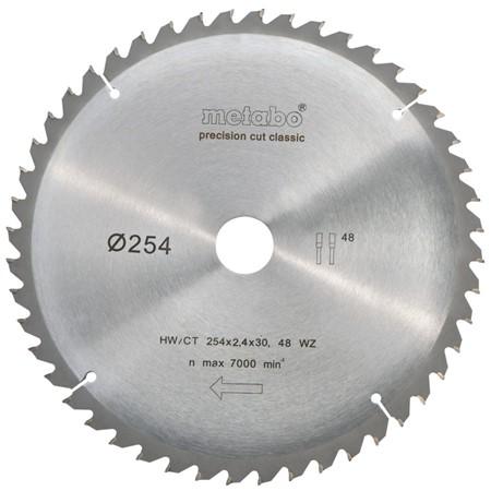 Metabo 628061000 Precision Cut Cirkelzaagblad - 254