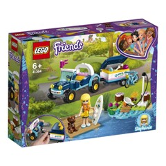 LEGO Friends 41364 - Stephanie's buggy en aanhanger