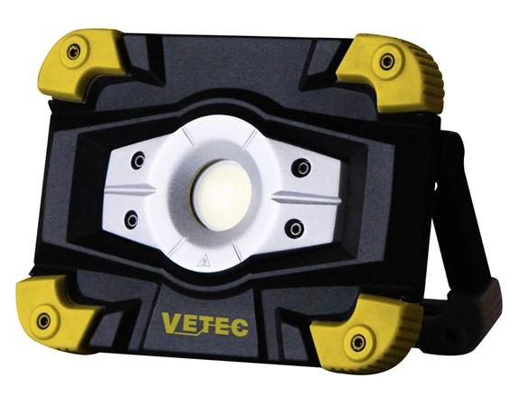 VETEC Led Wll 10 Accu Bouwlamp 10W