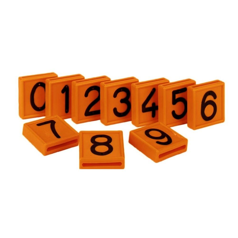 Afbeelding van CRS 1 Kokernummer Oranje Nummer 0 Box A 10 Stuks